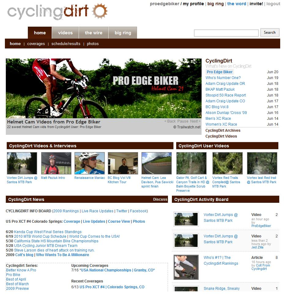 ProEdgeBiker Cycling Dirt